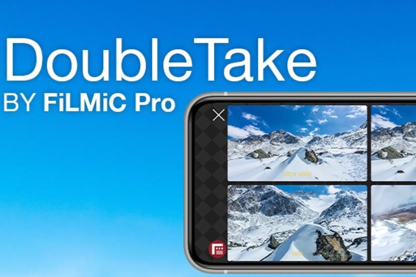 La app DoubleTake de FiLMiC permite grabación simultánea de cámaras en el iPhone