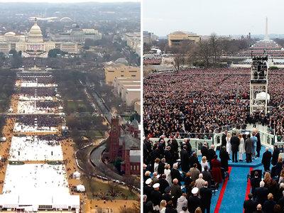 ¿1,5 millones vs. 250.000 personas? Guía completa para no cuñadear sobre la inauguración de Trump