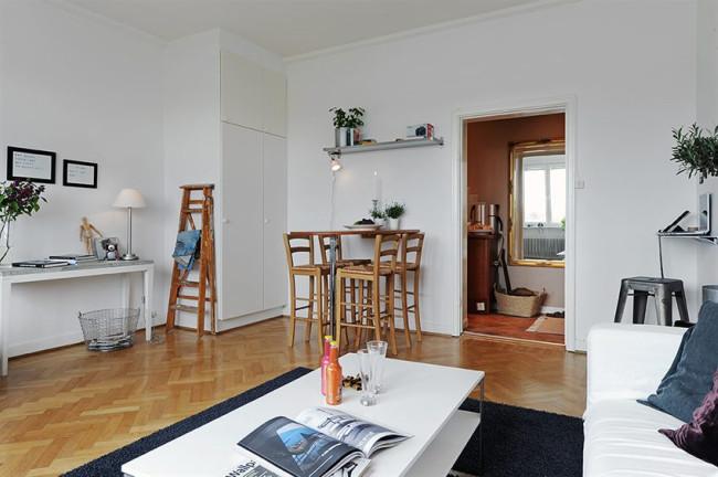 Foto de Puertas abiertas: un apartamento de 38 metros cuadrados de inspiración escandinava (6/12)