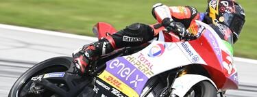 Lukas Tulovic se estrena con las motos eléctricas y Fermín Aldeguer pierde su primer podio en MotoE en la última vuelta