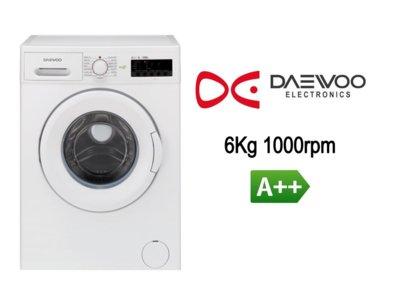 Lavadora Daewoo de 6 Kg A++ por 199 euros y envío gratis