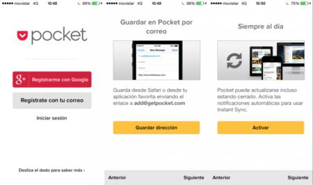 Configurar Pocket para iOS