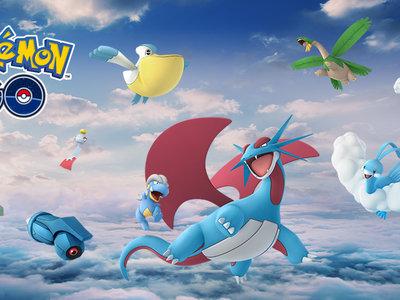 Rayquaza y más Pokémon de tipo volador y dragón de Hoenn se incorporan a Pokémon GO