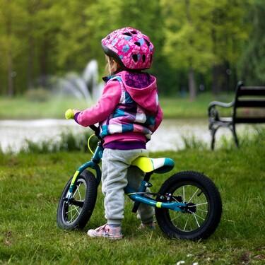 Los 11 grandes beneficios para los niños de utilizar bicicletas sin pedales