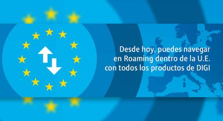 El roaming europeo gratuito llega por fin a Digi móvil