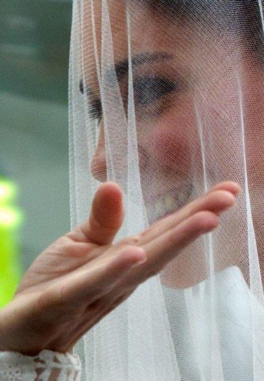 El vestido de novia de Kate Middleton el día de su boda con el príncipe Guillermo
