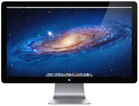 Apple incluirá conectores Thunderbolt en sus nuevos monitores LED Cinema Display