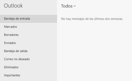Interfaz App Correo