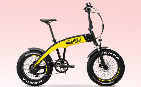 Ducati Src E Bicicleta Electrica Ebike Plegable 2020