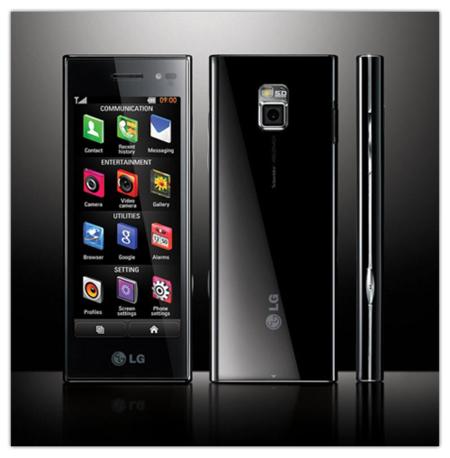 LG BL40: imágenes oficiales del nuevo Chocolate