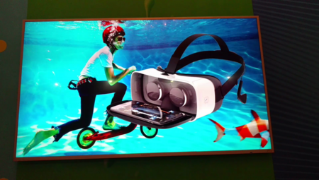Moto Mod Visor Realidad Virtual