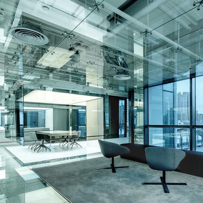 Foto de Las oficinas de cristal de SOHO en Shangai no tienen nada que esconder (1/14)