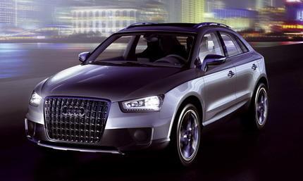 Audi Cross Coupe Quattro, prototipo de SUV compacto de Audi
