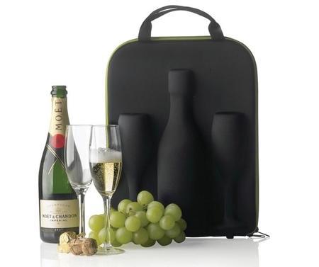 No sin tu champán: complemento del auténtico caballero