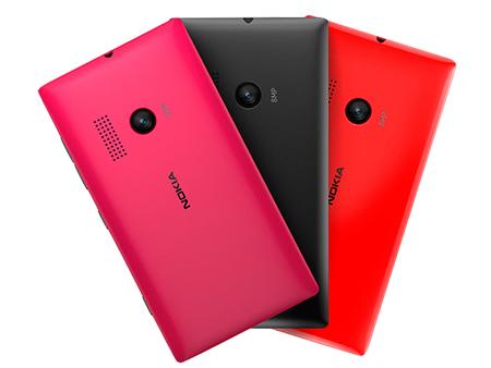 Nokia Lumia 505 colores