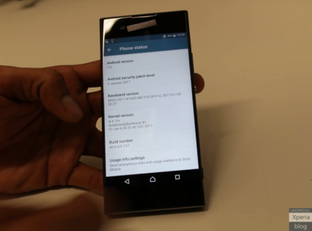 Se filtra en video la nueva generación del Xperia XA, el teléfono que Sony presentaría en el MWC 2017