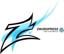 zWordpress 1.1, menú de acceso rápido a algunas funciones de WordPress desde Firefox