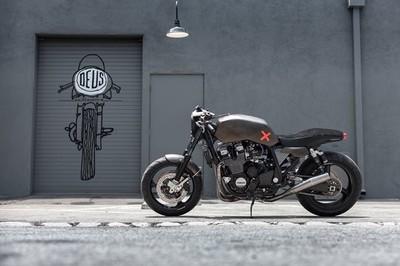 Yamaha XJR 1300 Proyecto X por Deus Ex Machina Italia