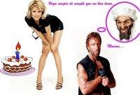 Hoy cumplen años... y Chuck Norris también