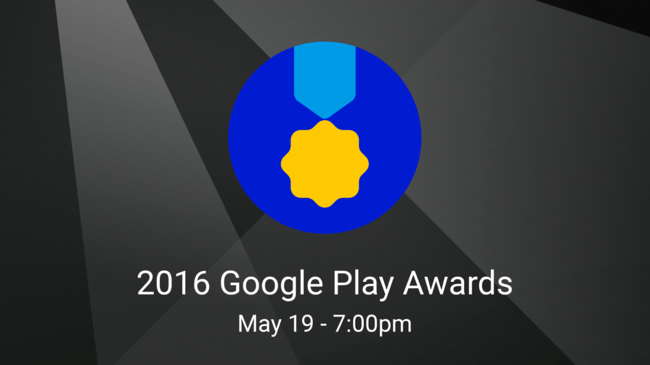 2016 Google® Play Adwards