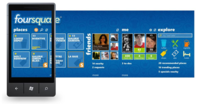 Foursquare 2.0 llega a Windows Phone 7