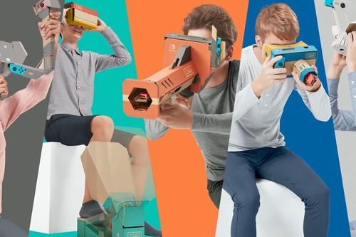 Nintendo Labo VR Kit: todo lo que sabemos hasta ahora del nuevo Nintendo Labo dedicado a la realidad virtual