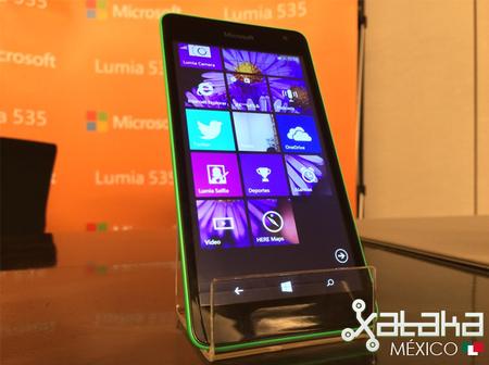 Microsoft Lumia 535, precio y disponibilidad en México