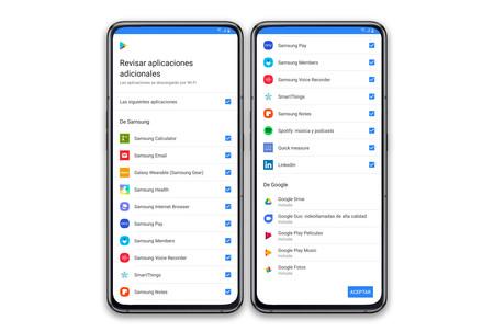 Samsung Galaxy A80 Apps Preload