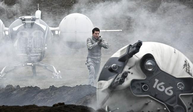 Imagen de Tom Cruise en la película 'Oblivion'