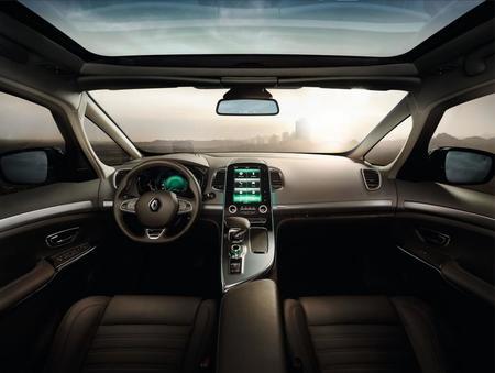 Renault Espace 2015 - interior