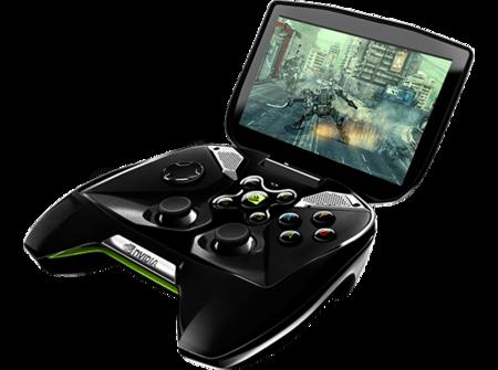 Nvidia Project Shield abierta