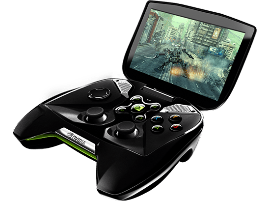 Nvidia Project Shield abierta