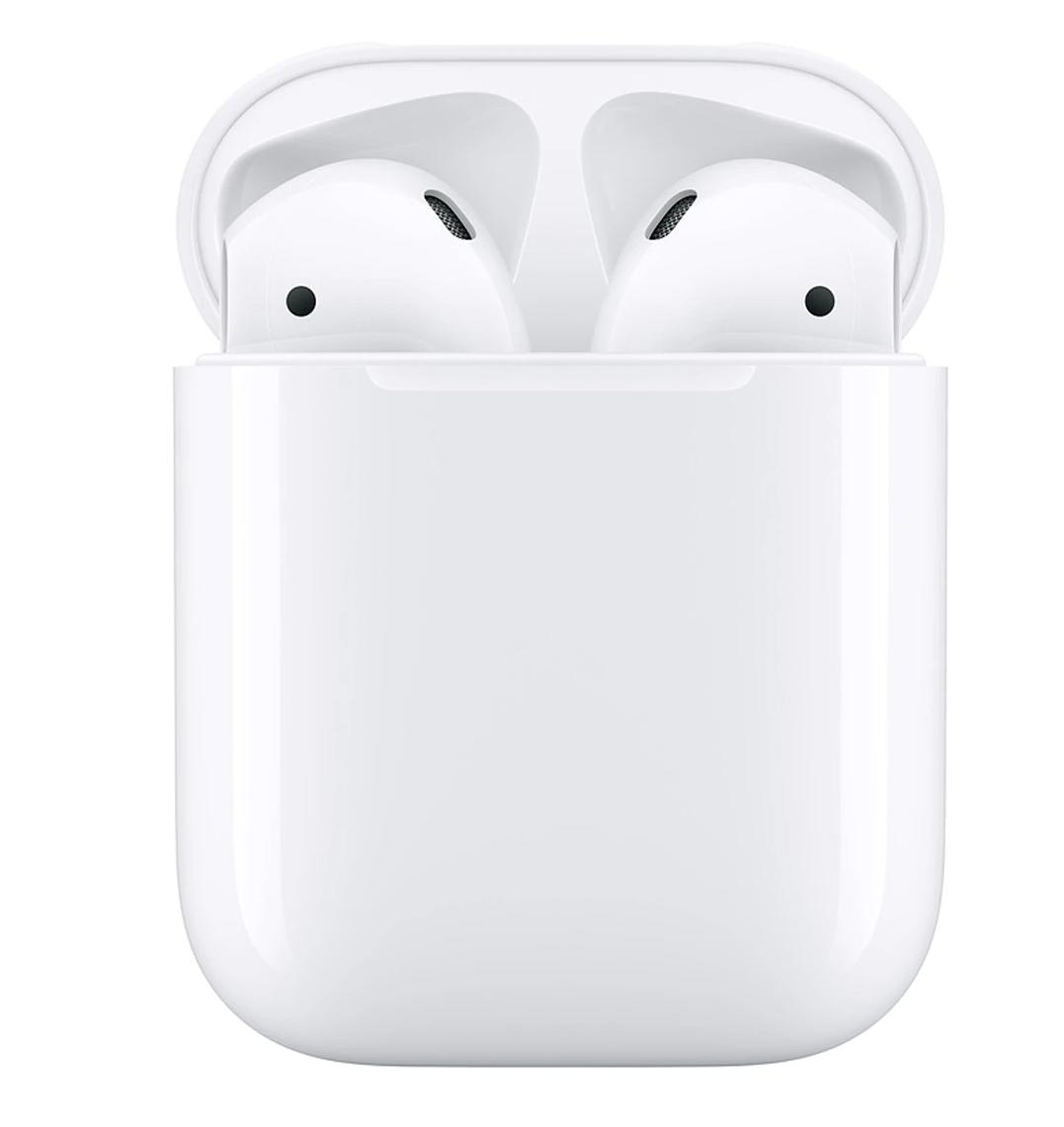 Auriculares de botón Apple AirPods 2ª Generación con estuche de carga