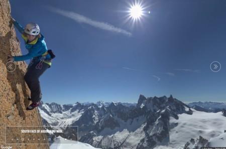 Street View llega a la cumbre del Mont Blanc