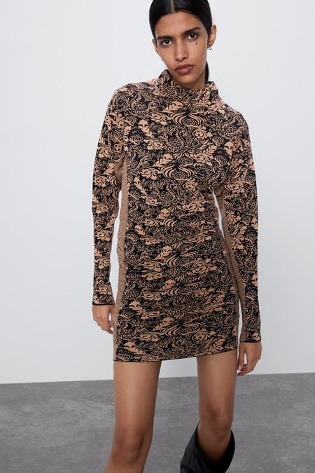 Vestido Jacquard Zara 02