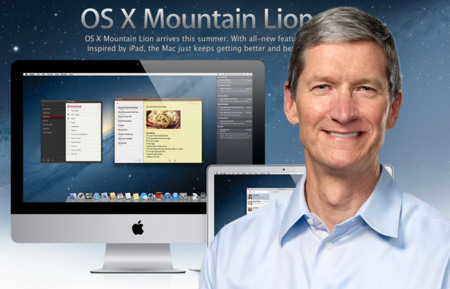 Tim Cook habla sobre OS X Mountain Lion