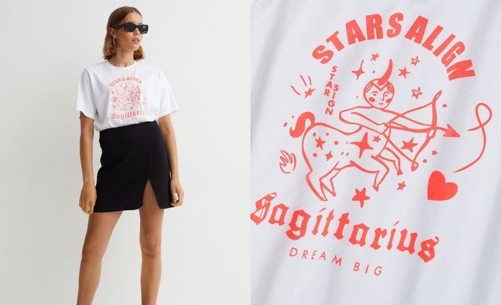 Camiseta del zodíaco