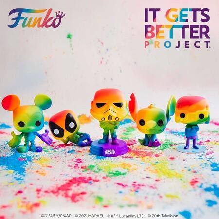 Figuras Funko POP Pride 2021 en Amazon México