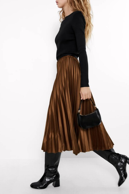 Faldas Midi De Zara Para Navidad