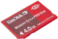 Memory Stick PRO Duo de 4 GB para la PSP