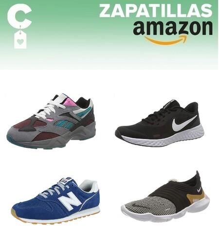 Chollos en tallas sueltas de  zapatillas New Balance, Nike, Reebok y Puma por menos de 40 euros en Amazon