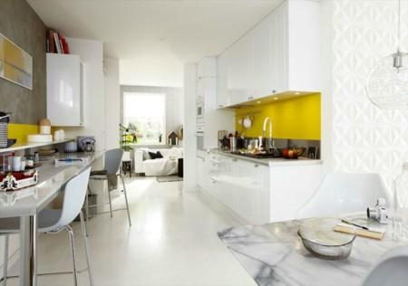 Cocinas Blancas Y Luminosas 11