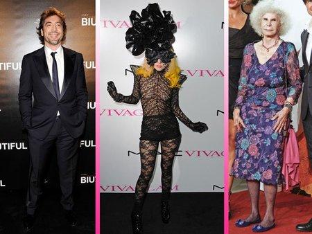 Javier Bardem, Lady Gaga o La Duquesa de Alba (WTF!) entre los mejor vestidos para Vanity Fair
