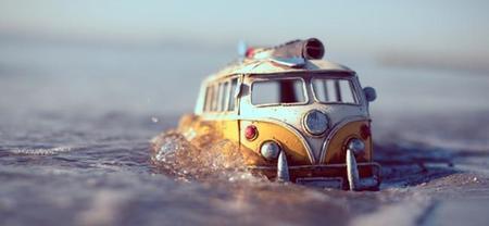 Kim Leuenberger, la gran aventura en fotos de coches en miniatura