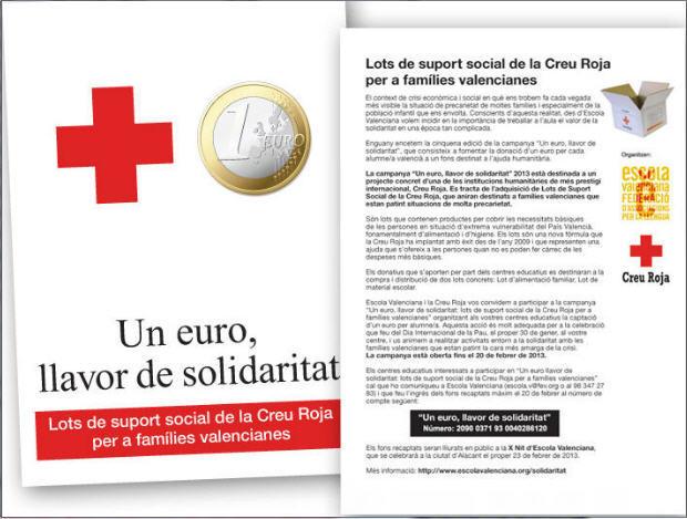 Un euro llavor de solidaritat