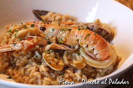 Risotto de frutos del mar