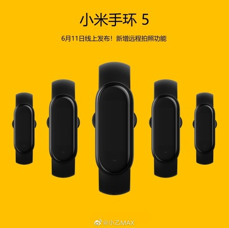 Xiaomi Mi Band 5 Teaser Diseno Oficial