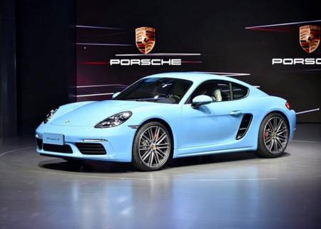 El Porsche 718 Cayman ya se ha presentado en Pekín