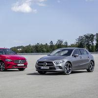 Los Mercedes-Benz Clase A y B ahora también son híbridos enchufables, con hasta 75 km de autonomía eléctrica