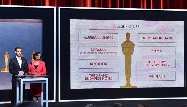Las ocho películas que optan al Oscar